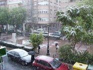 Nieve en Cieza(enero 2009)
