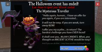 Roblox Mm2 Halloween 2019 Codes List Halloween Event 2019 Murder Mystery 2 Wiki Fandom