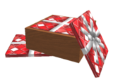 Box of Red Wrapping Paper