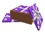 Box of Purple Wrapping Paper