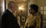 1309 The Killing Dose Inspector Brackenreid (Thomas Craig) and Violet Hart (Shanice Banton)