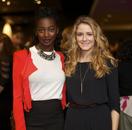 Mouna Traoré and Hélène Joy