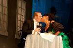 Brackenreid (Thomas Craig) and Mimi:Rosa Hamilton (Measha Brueggergosman) kiss