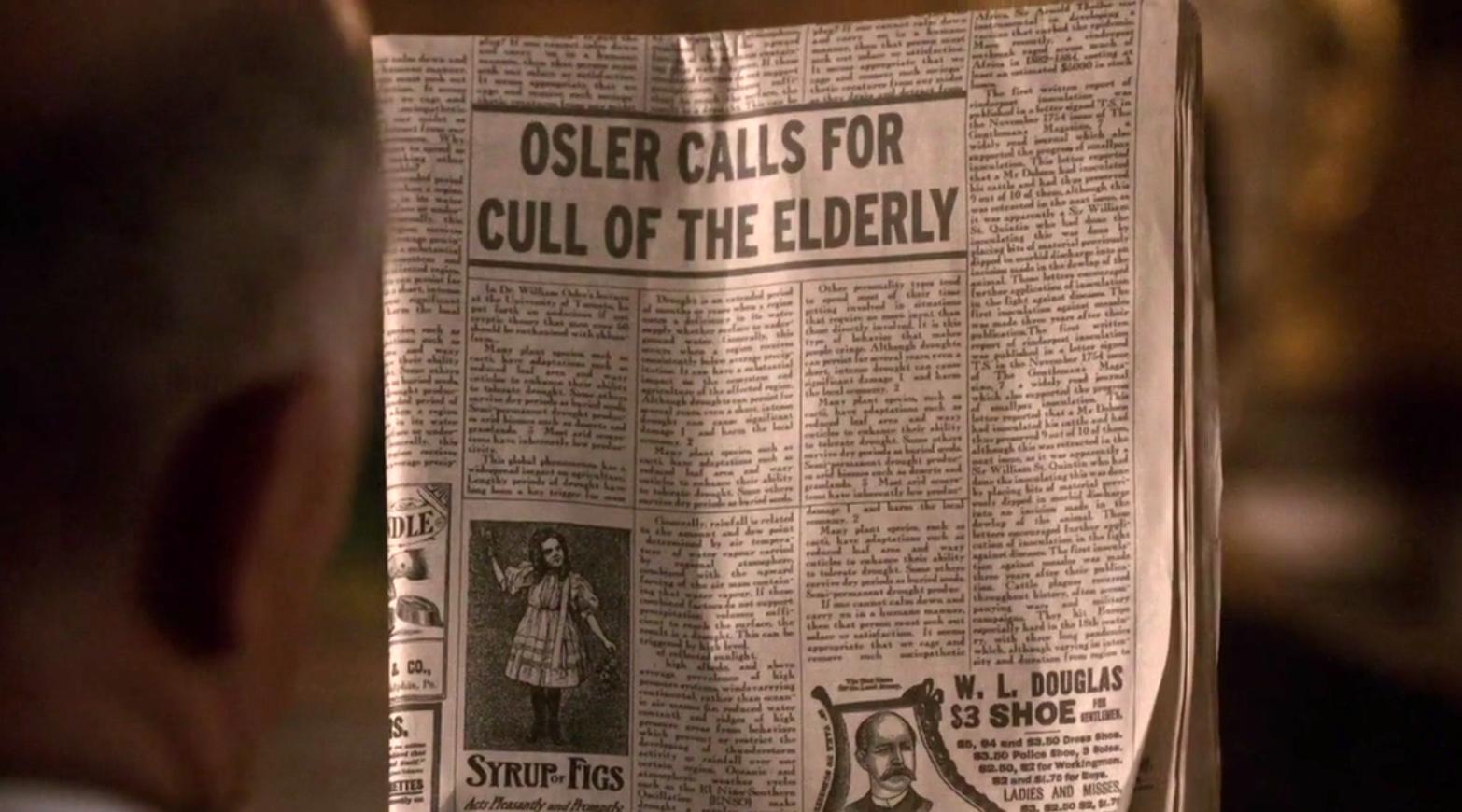 Dr. Osler Regrets