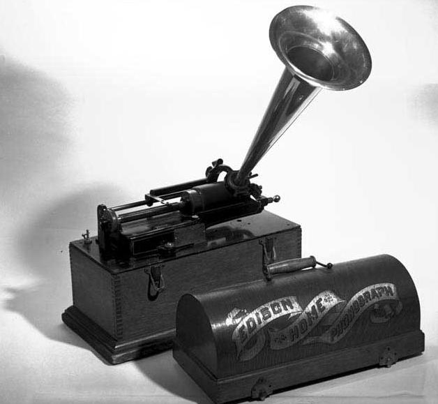 Edison Recorder B&W.PNG