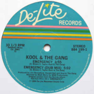 Kool & the Gang - Emergency single
