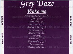Grey Daze - Wake Me