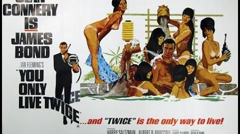 1967 - James Bond - You only live twice title sequence