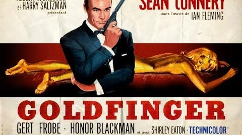 1964 - James Bond - Goldfinger title sequence