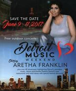 Detroit Music Weekend Starring Aretha Franklin