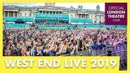 West End LIVE 2019 Six performance