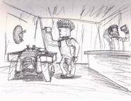 H Frenchmans Bar Sketch