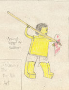 Ancient Egyptian Soldier