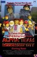 Alpha Team Mission Deep City Poster