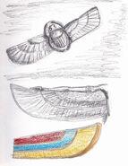 Egyptian Wings Sketch