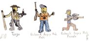 Forest of Fear Characters 2