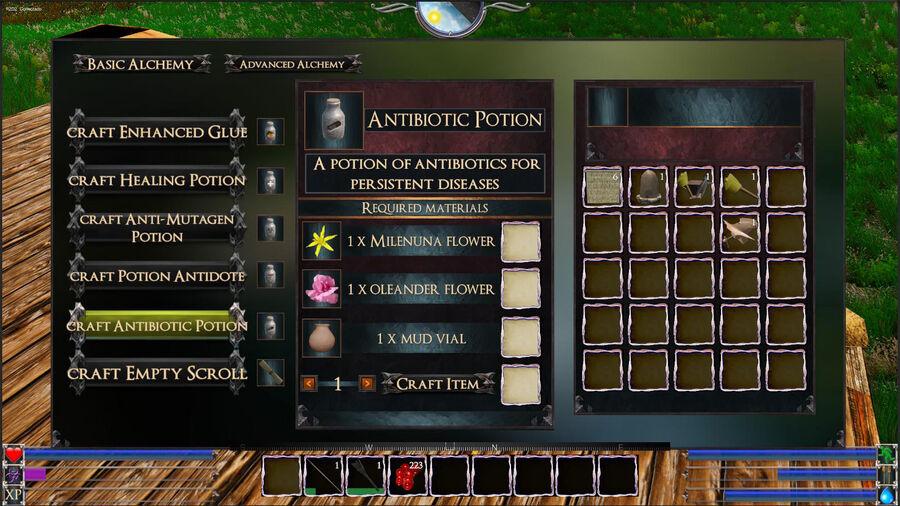 Antibiotic Potions