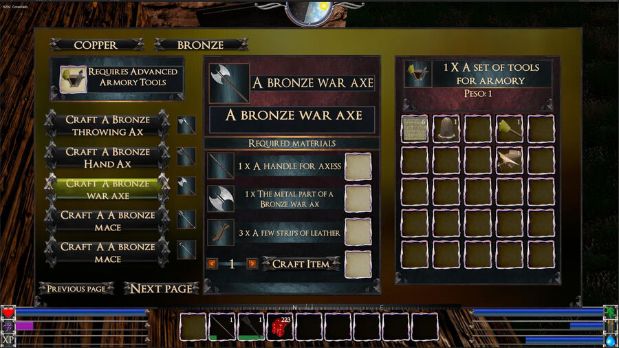 A Bronze War Ax
