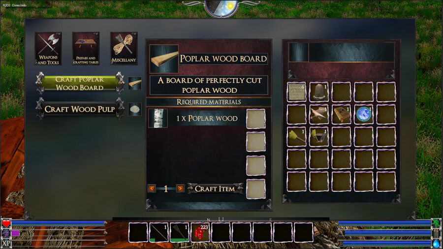 Poblar Wood Board