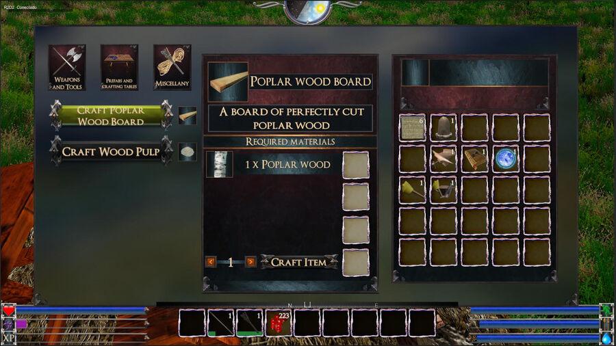 Poblar Wood Board
