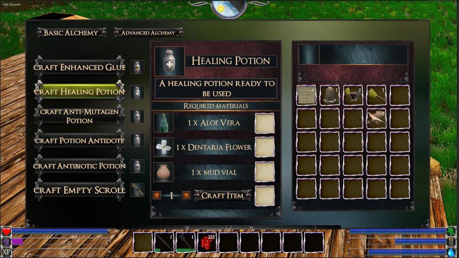 Healing Potions