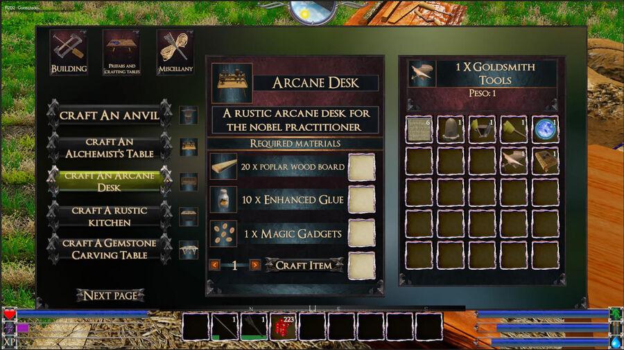 An Arcane Desk