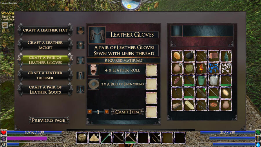 A Leather Gloves