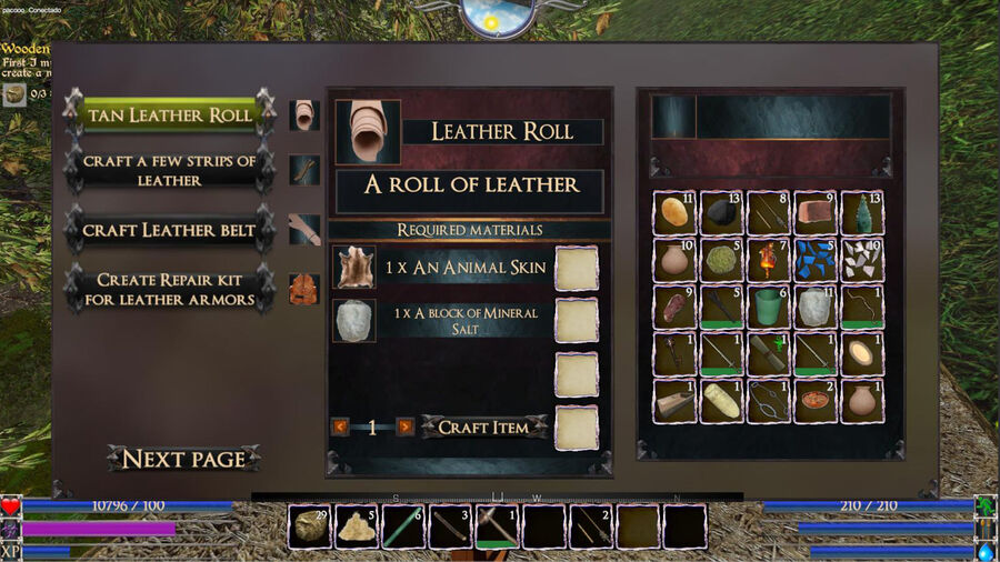 Leather Roll