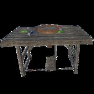 Gemstones Carving Table