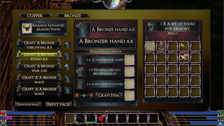 A Bronze Hand Ax