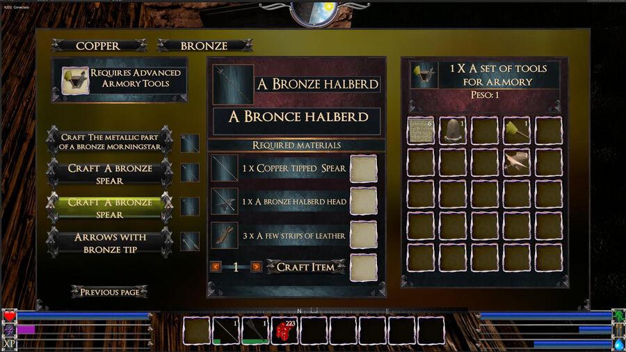 A Bronze Halberd