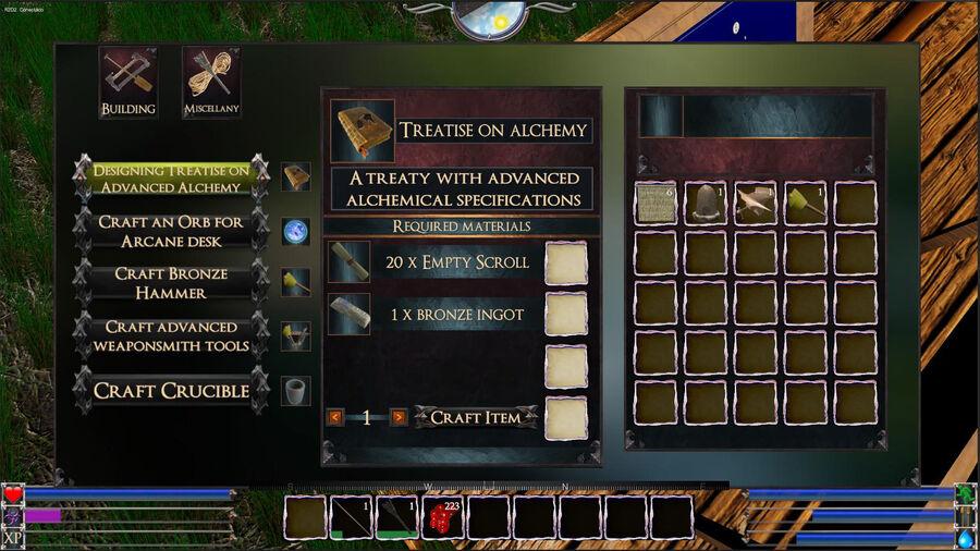 Designing Treatise On Advanced Alchemy