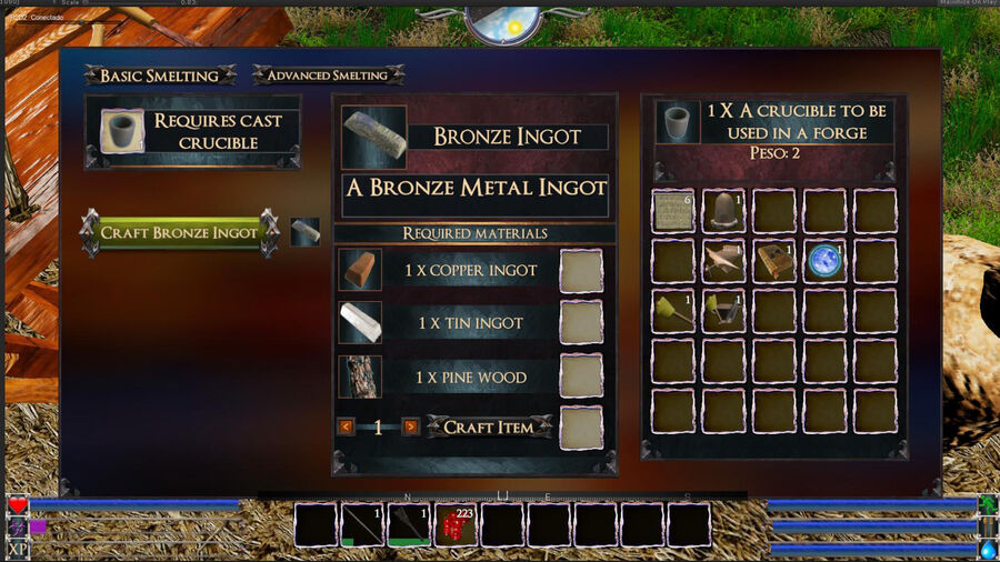 Bronce Ingot