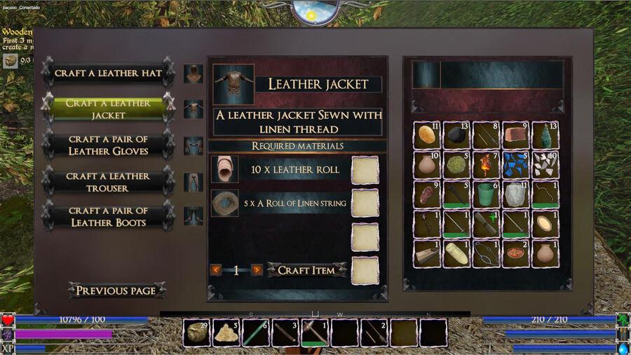 A Leather jacket