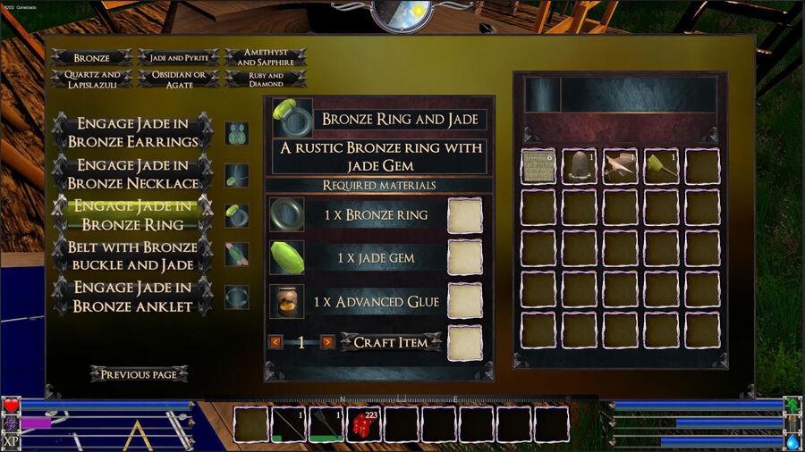 Engage Jade In Bronze Rig