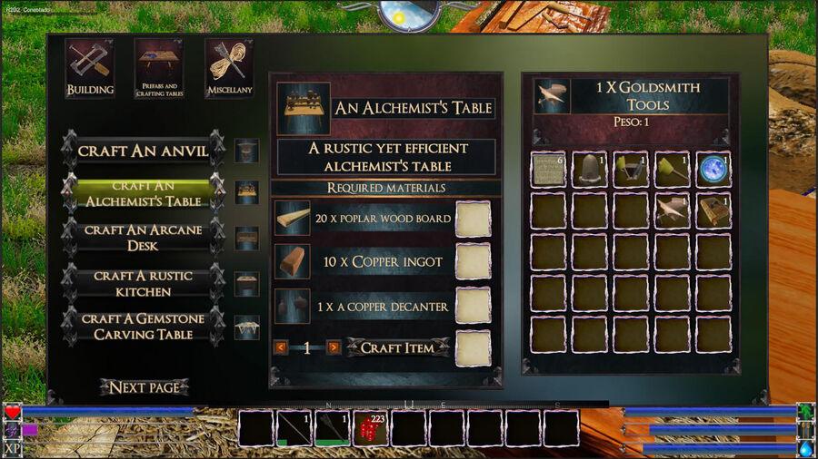 An Alchemist`s Table
