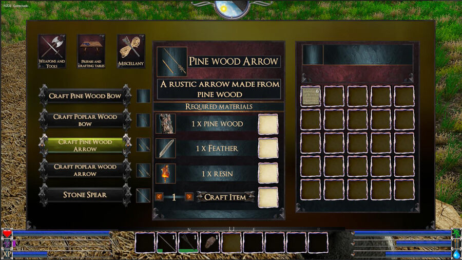 Pine Wood Arrow