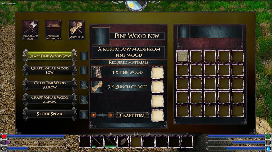 Pine Wood Bow