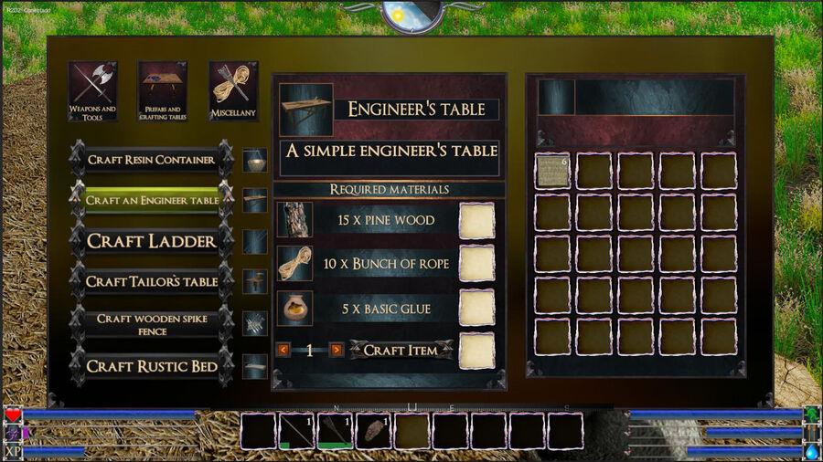 Engineer Table