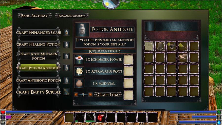 Potion Antidote