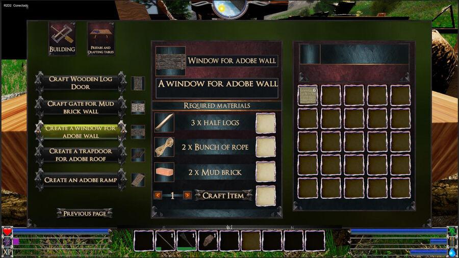 Window For Adobe Wall
