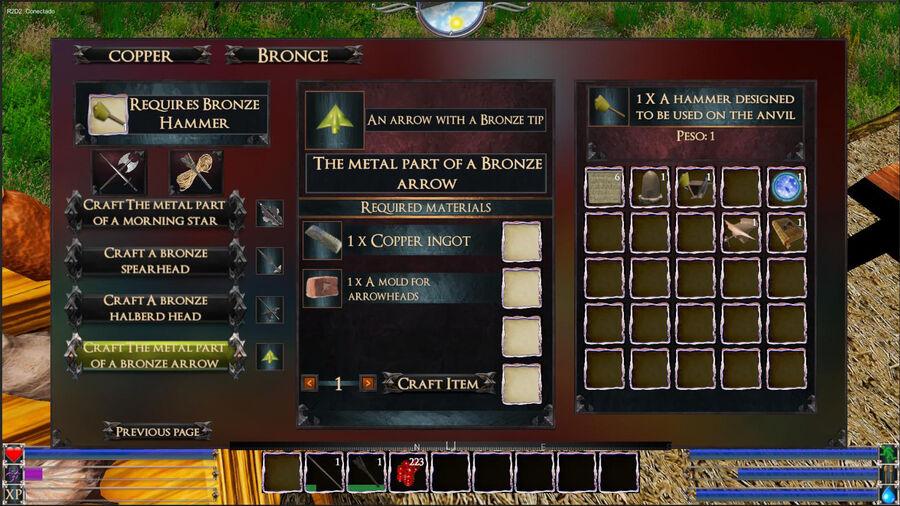 The Metal Part Of A Bronze Arrow