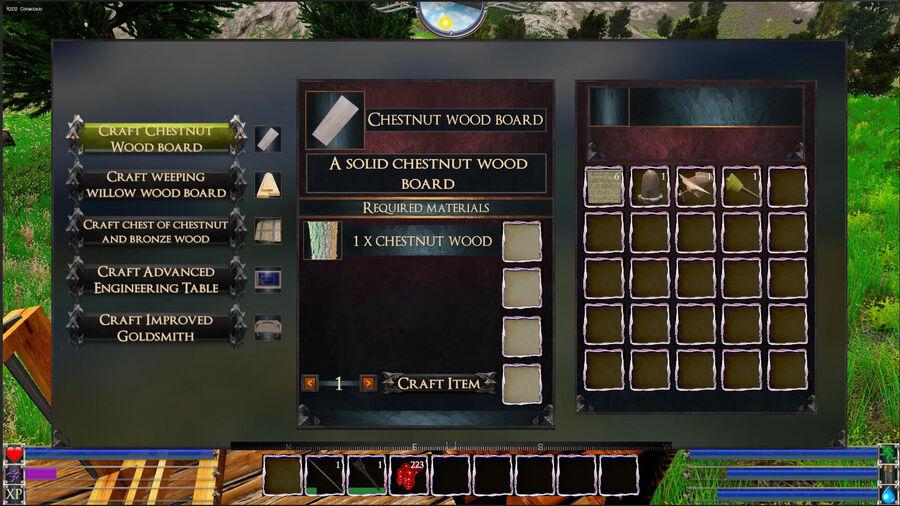 Chestnut Wood Board