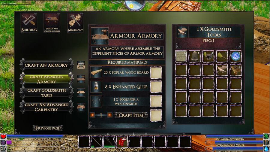 Armour Armory