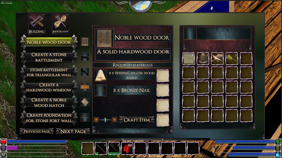 Noble Wood Door