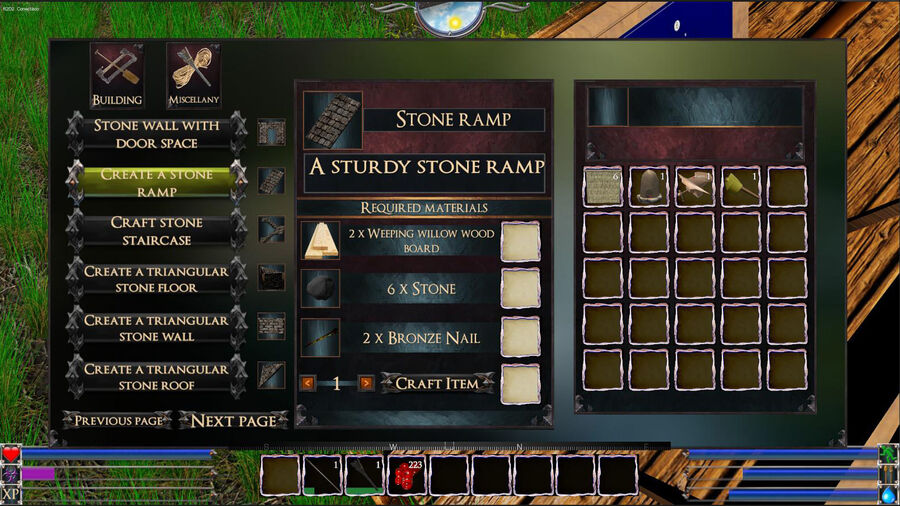 A Stone Ramp