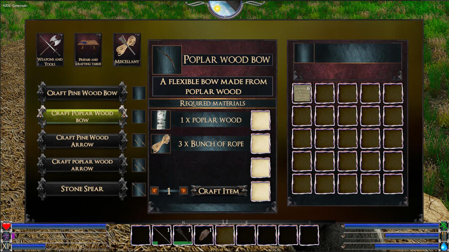 Poblar Wood Bow