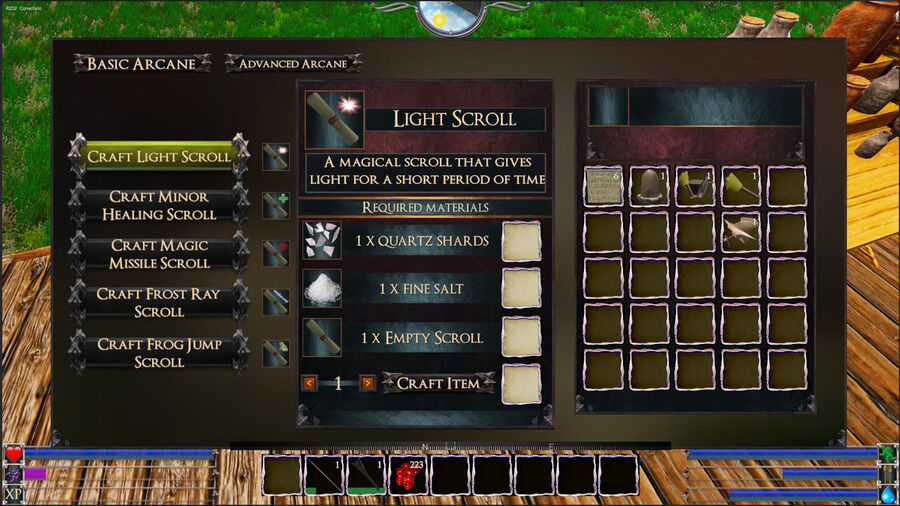 Light Scroll