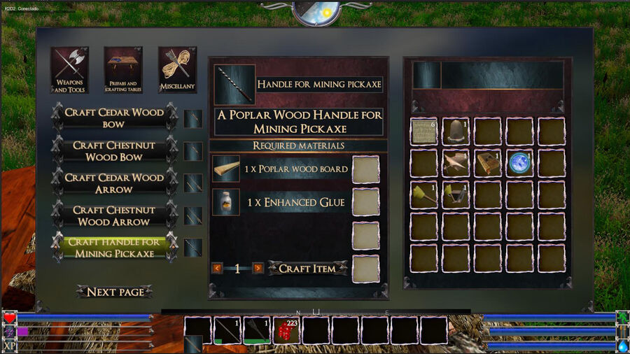 Handle For Mining Pickaxe