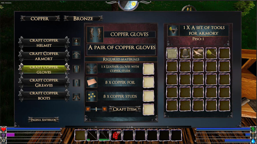 Copper Gloves